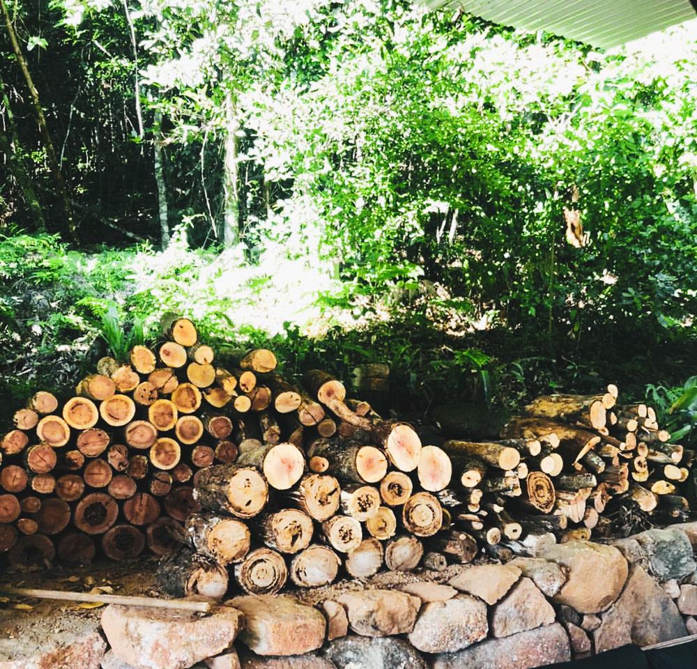 Kangaroo Valley Wood Pile