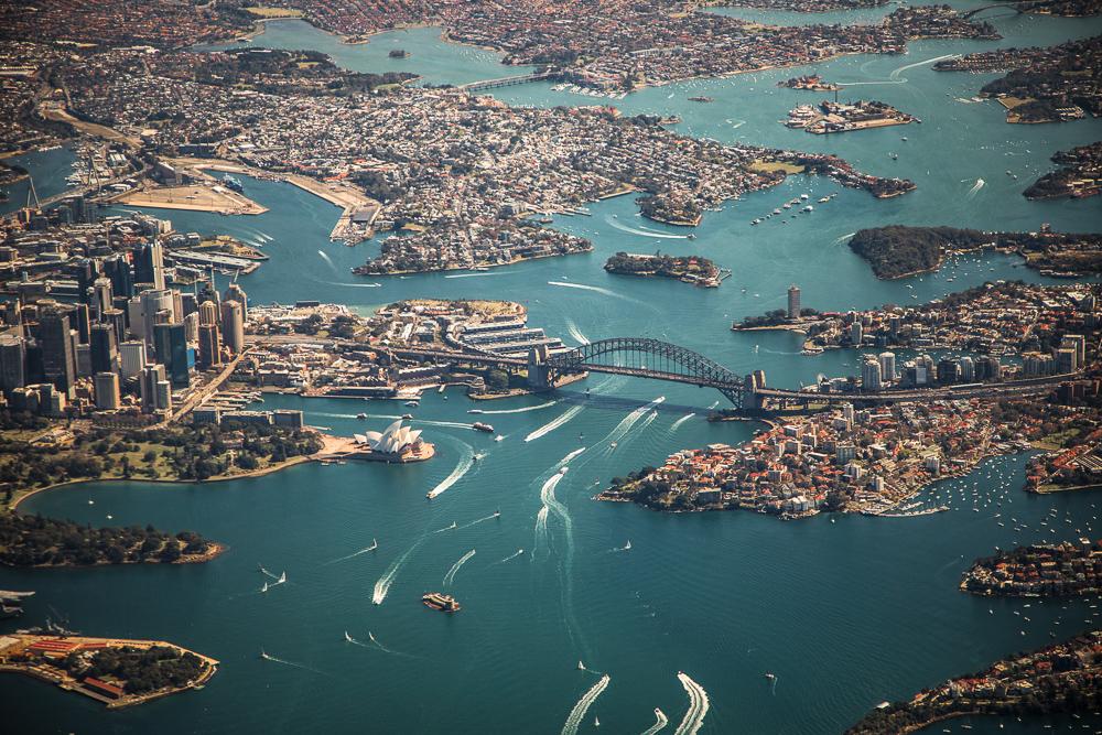 drone_Sydney_harbour
