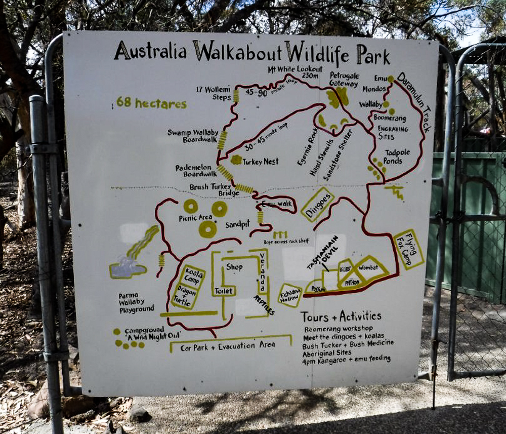 Walkabout_wildlife_Park_map