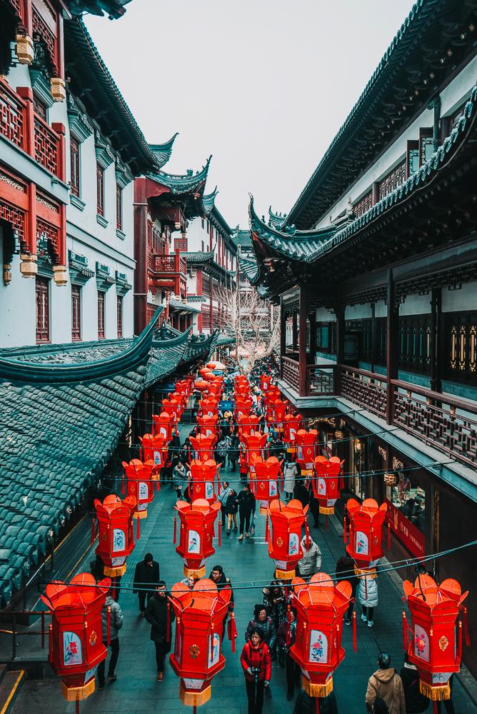 village-lanterns