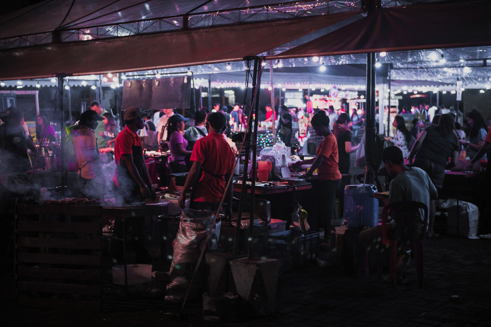 market-full-of-people-at-night