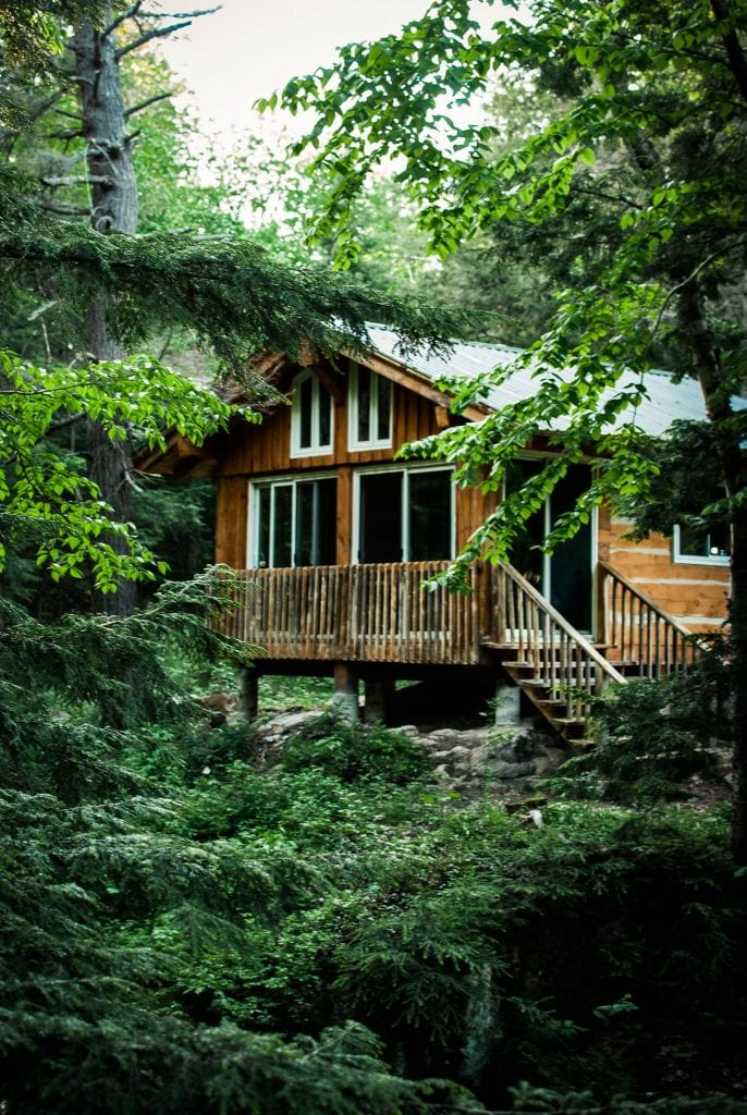 cabin-in-green-woods